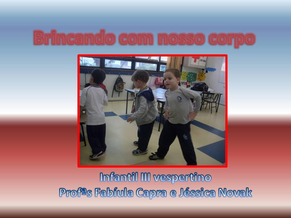 Esquema Corporal   Infantil III Vespertino