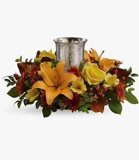 Order the Teleflora Glowing Gathering Centerpiece