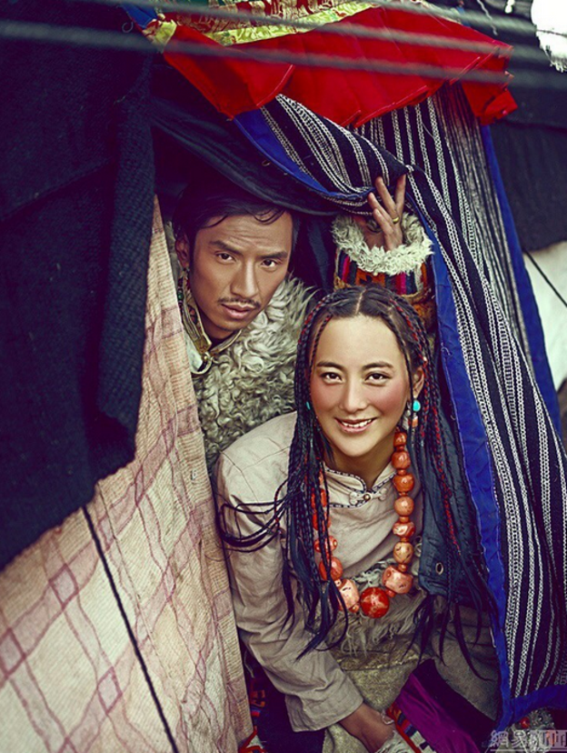 The Tibetan pre-wedding picture viewed by 80% of China