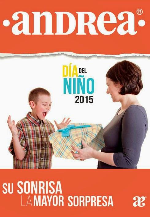 Catalogo Andrea promotor dia del niño 2015