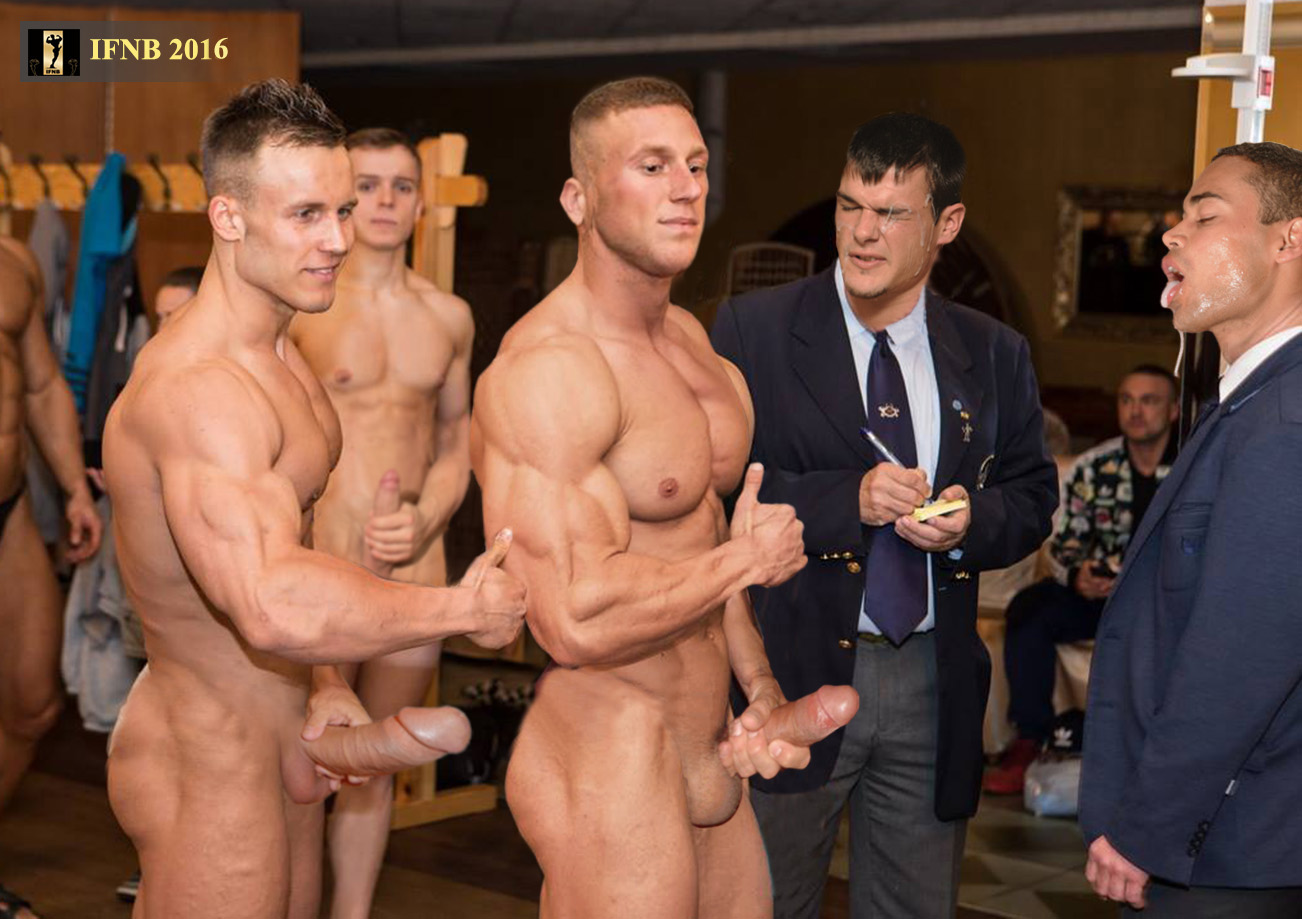 naked basketball men showing