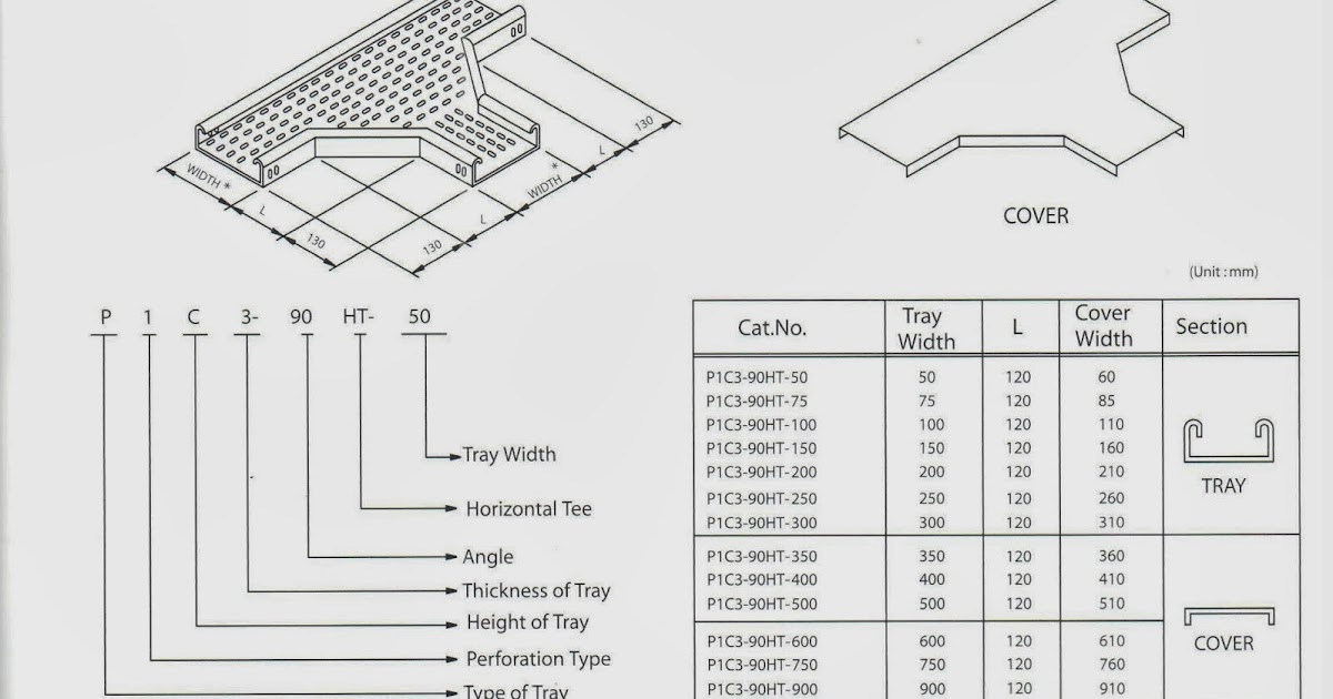 oil and gas electrical and instrumentation engineering  cable tray perforated type