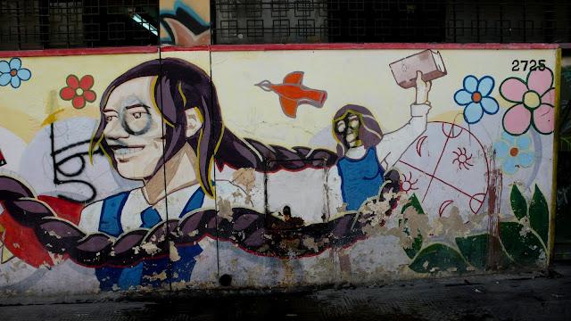 street art in santiago de chile victor jara arte callejero