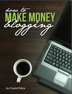 How to make Money blogging written by Crystal Paine