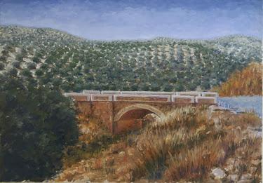 El puente de la Dehesilla del Moral; Fuerte del rey, Jaén (15M)