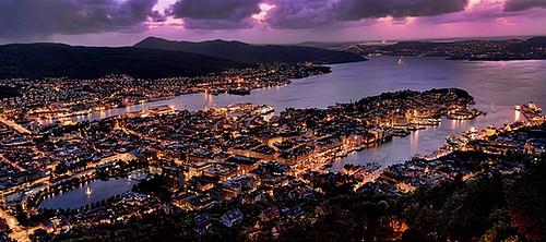 VisitarBergen.es - Bergen Noche