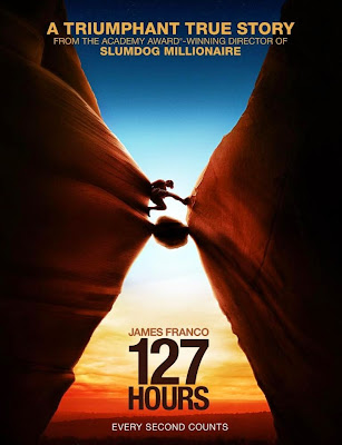 Poster Of Hollywood Film 127 Hours (2010) In 300MB Compressed Size PC Movie Free Download At worldfree4u.com