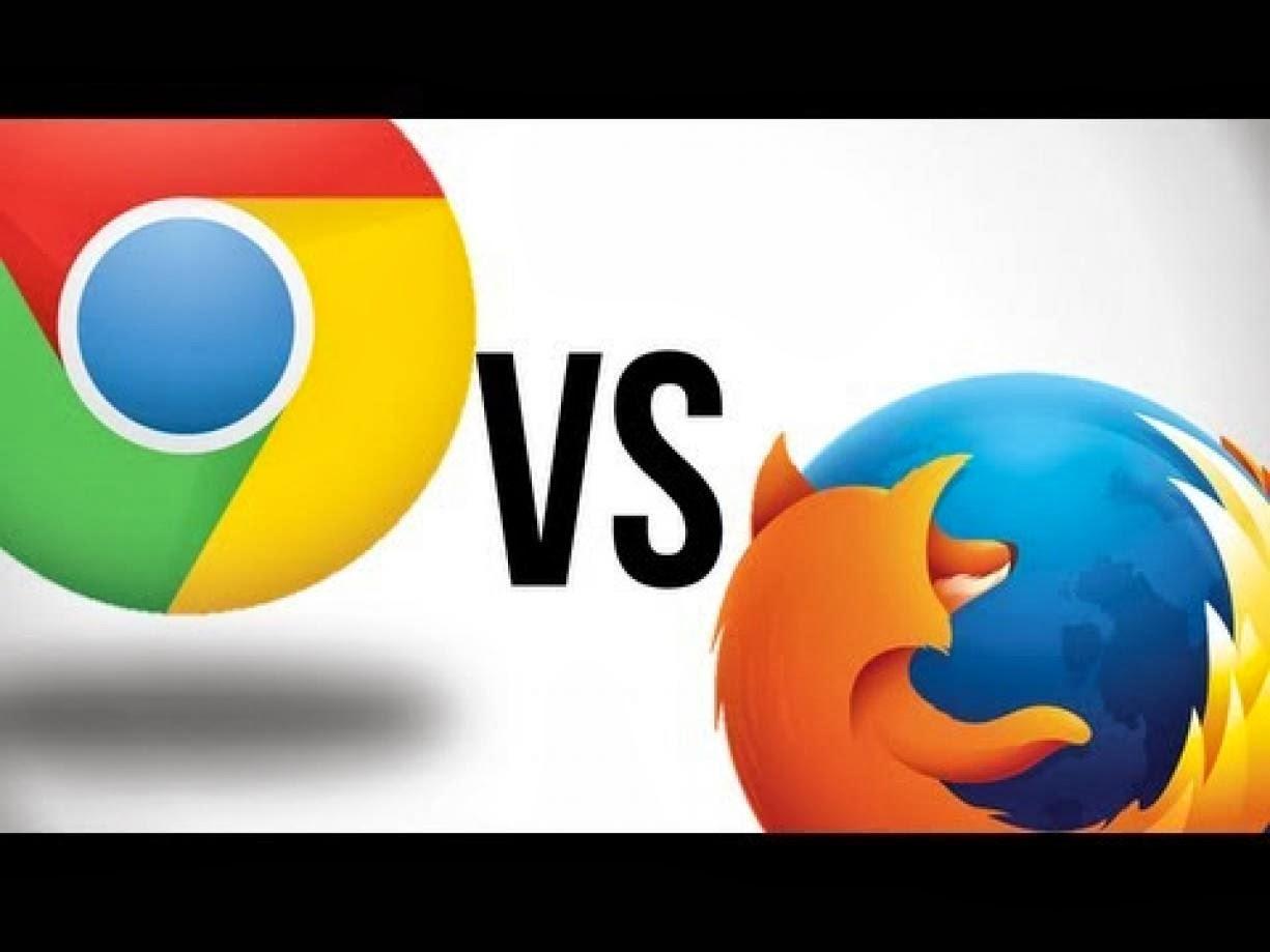 firefox vs google chrome