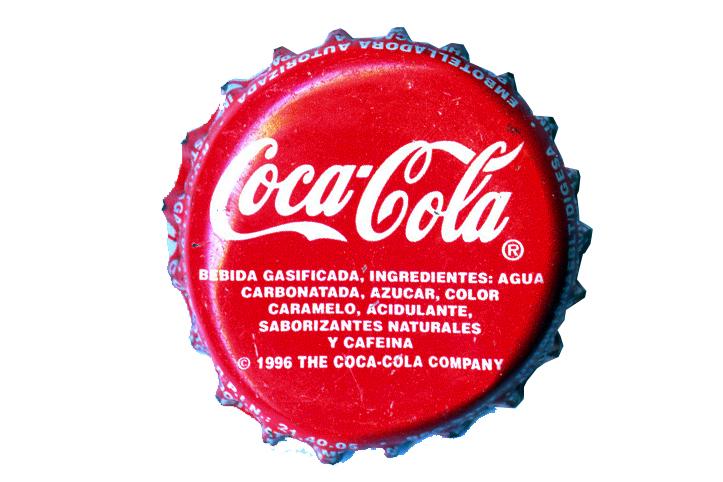 Colecci n de chapas coca cola edici n 96 per - Chapa coca cola pared ...