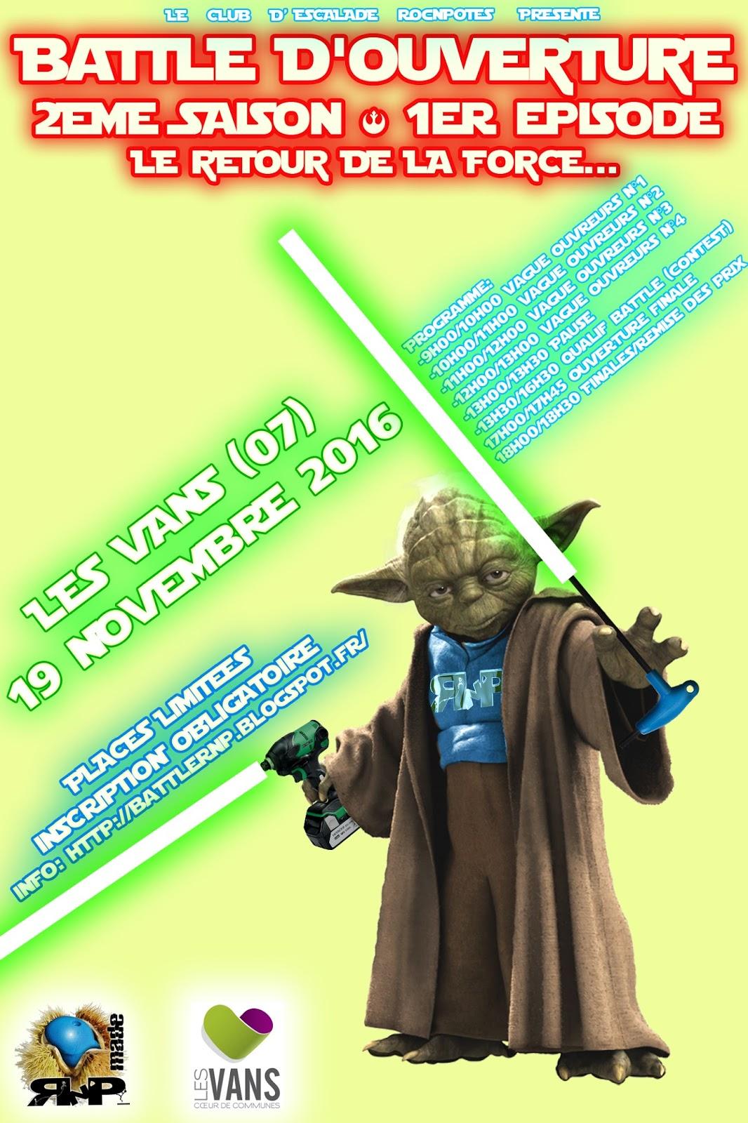 Réservez votre 19 novembre !!!!