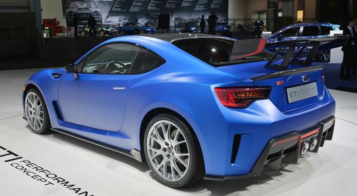 Subaru brz sti release