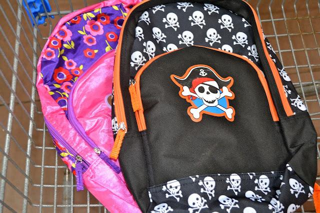 Backpacks at Walmart