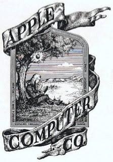 İlk apple logosu