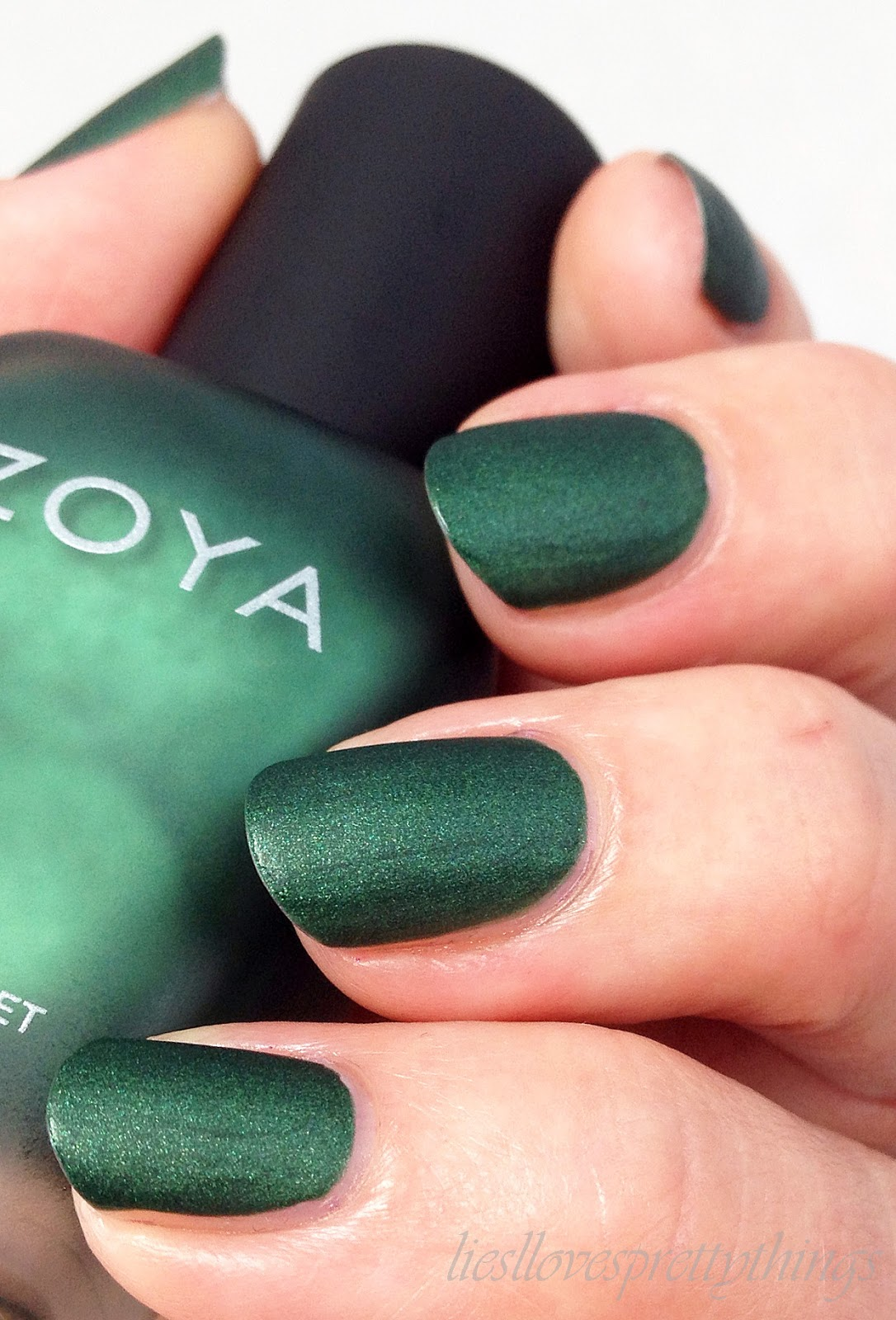 Zoya Veruschka, Matte Velvet Collection swatch and review