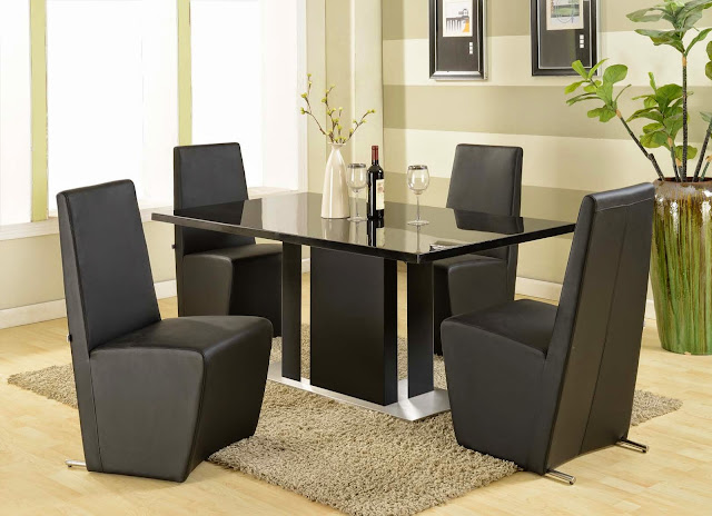 Modern Dining Table and Chairs