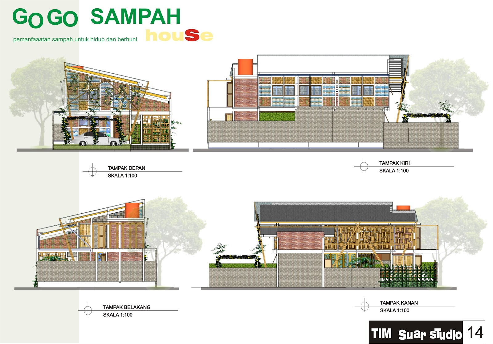 House design competition - Pemenang Eco House Design Competition
