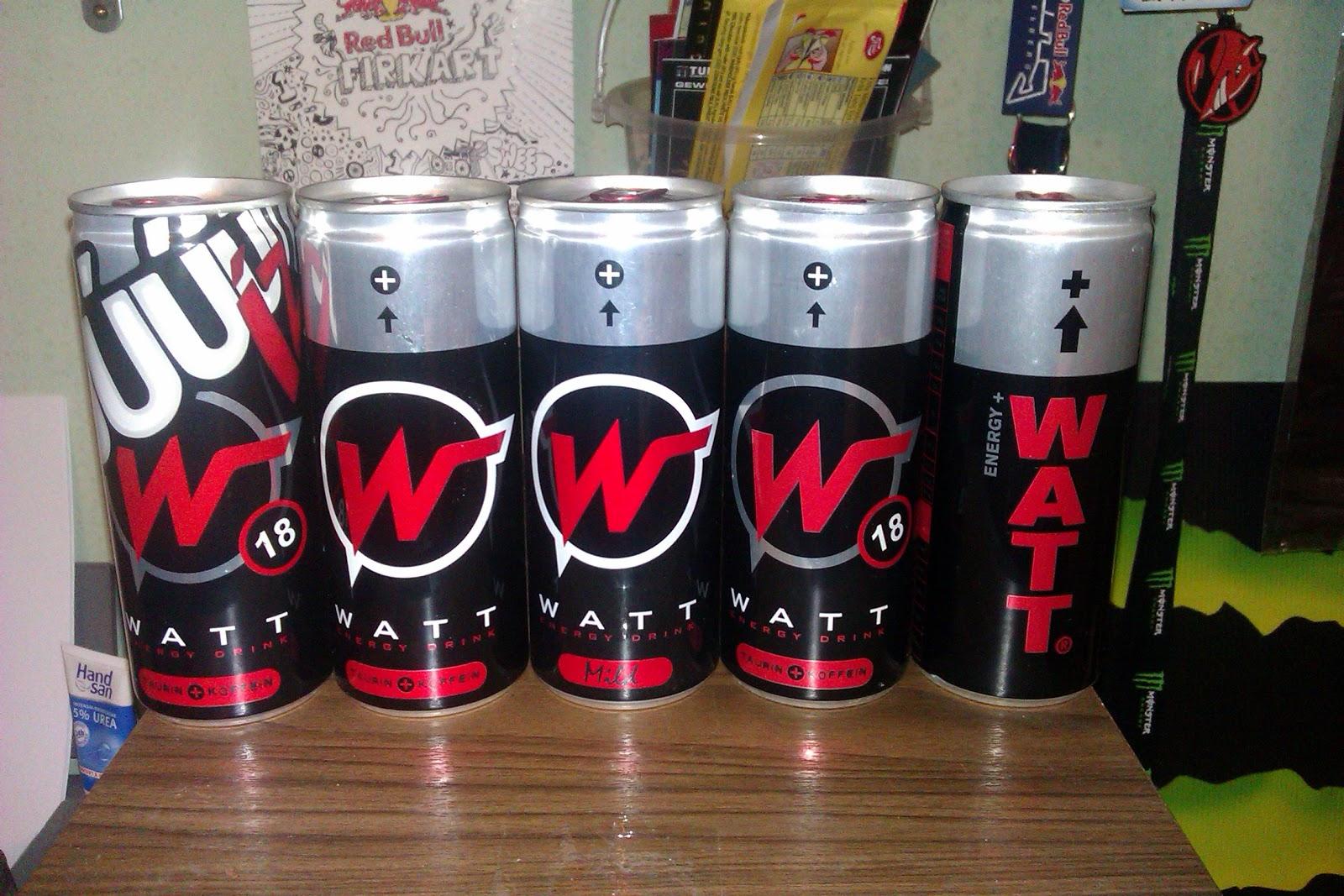 Watt Energy Drink Hungary