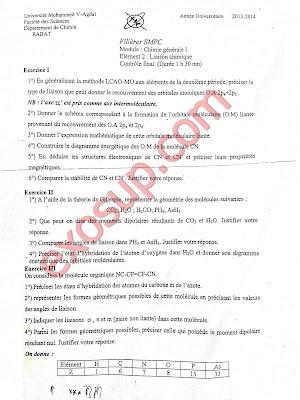 contrôles corrigés chimie des solutions fsr smpc s2