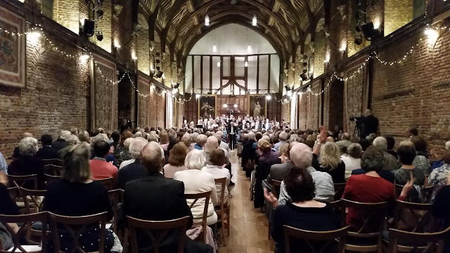 Stephen Cleobury, Choir of King's College Cambridge, Haydn Chamber Orchestra at Hatfield House Chamber Music Festival 2015