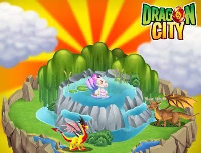 imagenes de los habitats especiales de dragon city