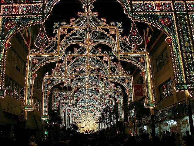 Festival Light Di Kota Belgium [ www.BlogApaAja.com ]
