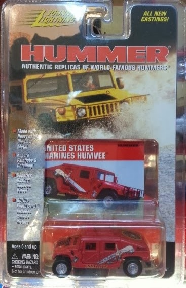 Johnny Lightning US Marines Humvee (1999)