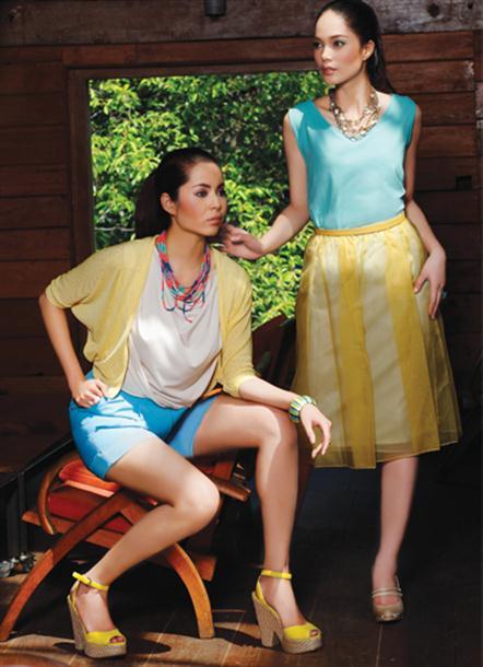 trend fashion: Trend dress warna pastel