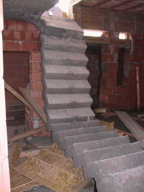 And The Basement Stairs Have Seen Better Days?