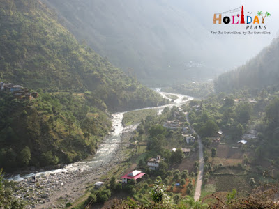 View of Tirthan Valley from Top