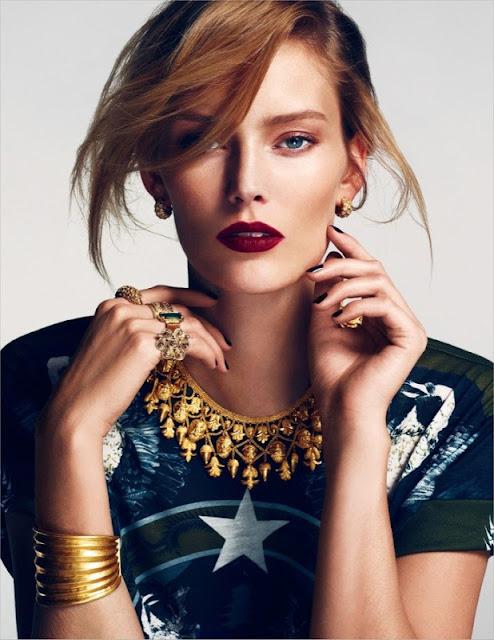 Model Charlott Cordes