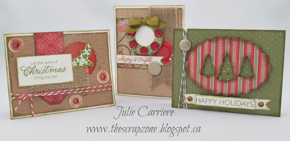 The Scrap Zone 6th Annual Christmas Card Workshop – Christmas Card Layout