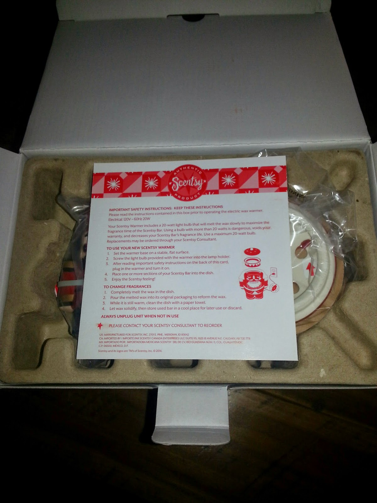 Mommys block party give the gift of scentsy 2014 limited the warmers box itself is a keepsake and has a place to write down special holiday memories this is one box ill be hanging onto xflitez Gallery