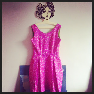 Photo of new me-made By Hand London Elisalex dress in Liberty fabric
