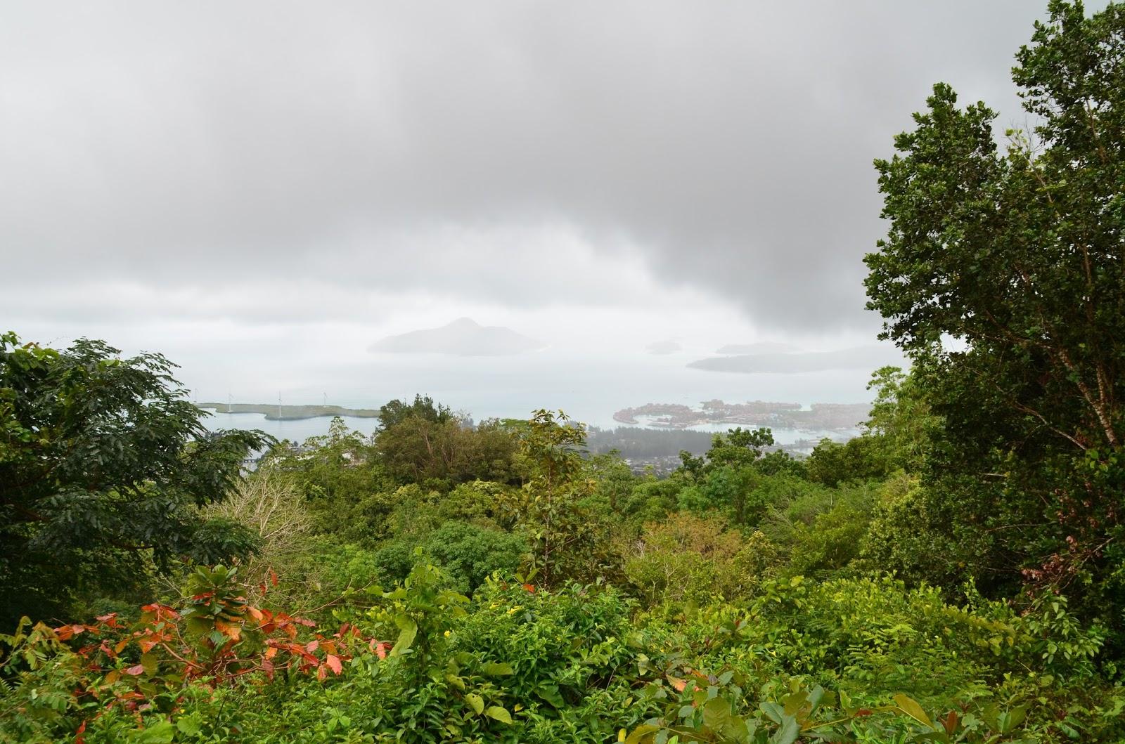 Vue sur Eden Island
