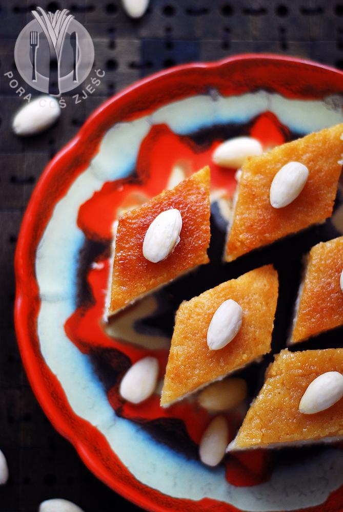 Ciasto z semoliny