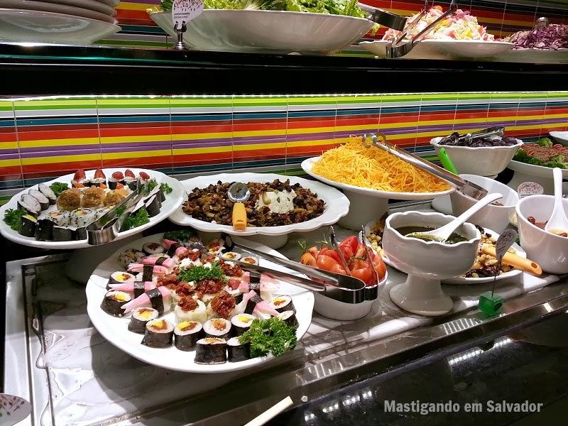 Alecrim Geração Saúde: Buffet japonês