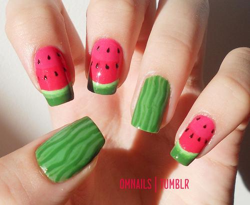 Modele unghii false gel | Art nail design ideas