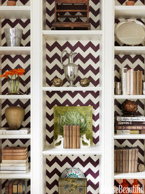 10 principles of decorating bookshelves. | Infatuated with love