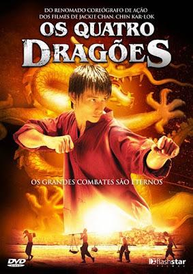 Filme Poster Os Quatro Dragões DVDRip XviD Dual Audio & RMVB Dublado