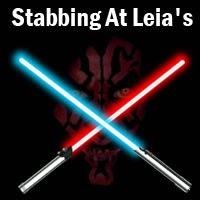Stabbing At Leia's