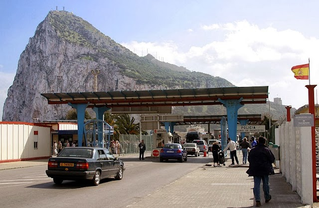 The Postcards impression on Gibraltar's Frontier Delays