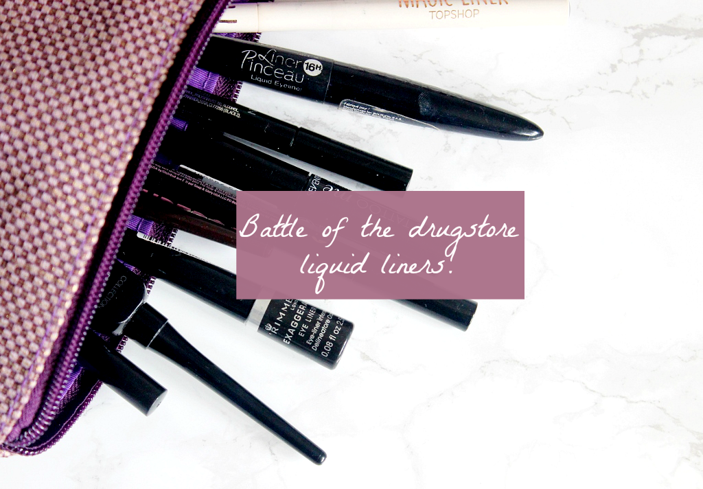 battle of the drugstore liquid eyeliners best liquid eyeliner uk