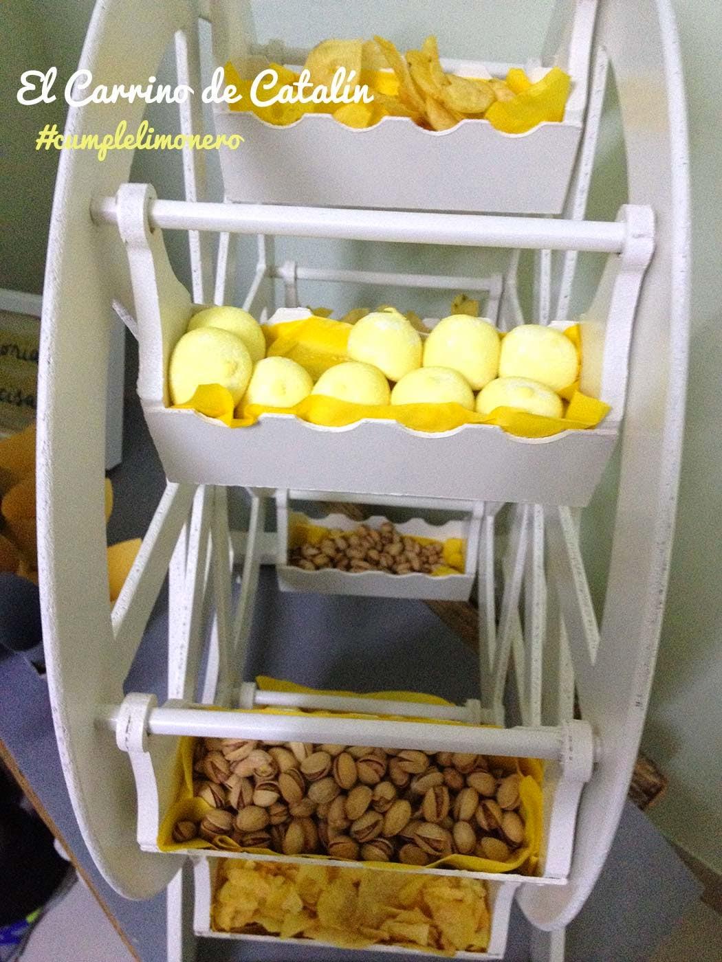 Noria de chuches, noria dulce, noria de frutos secos