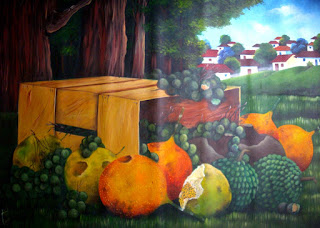 Cuadros De Bodegon Frutas Paisaje Fondo