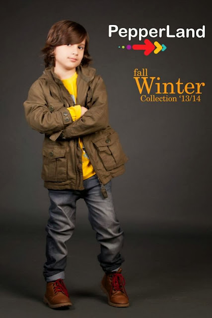Pepperland Stylish Fall Winter Collection 2013-14 Kids Dresses