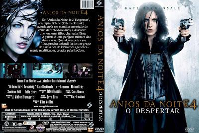 Anjos da noite 4 O despertar DVD Capa