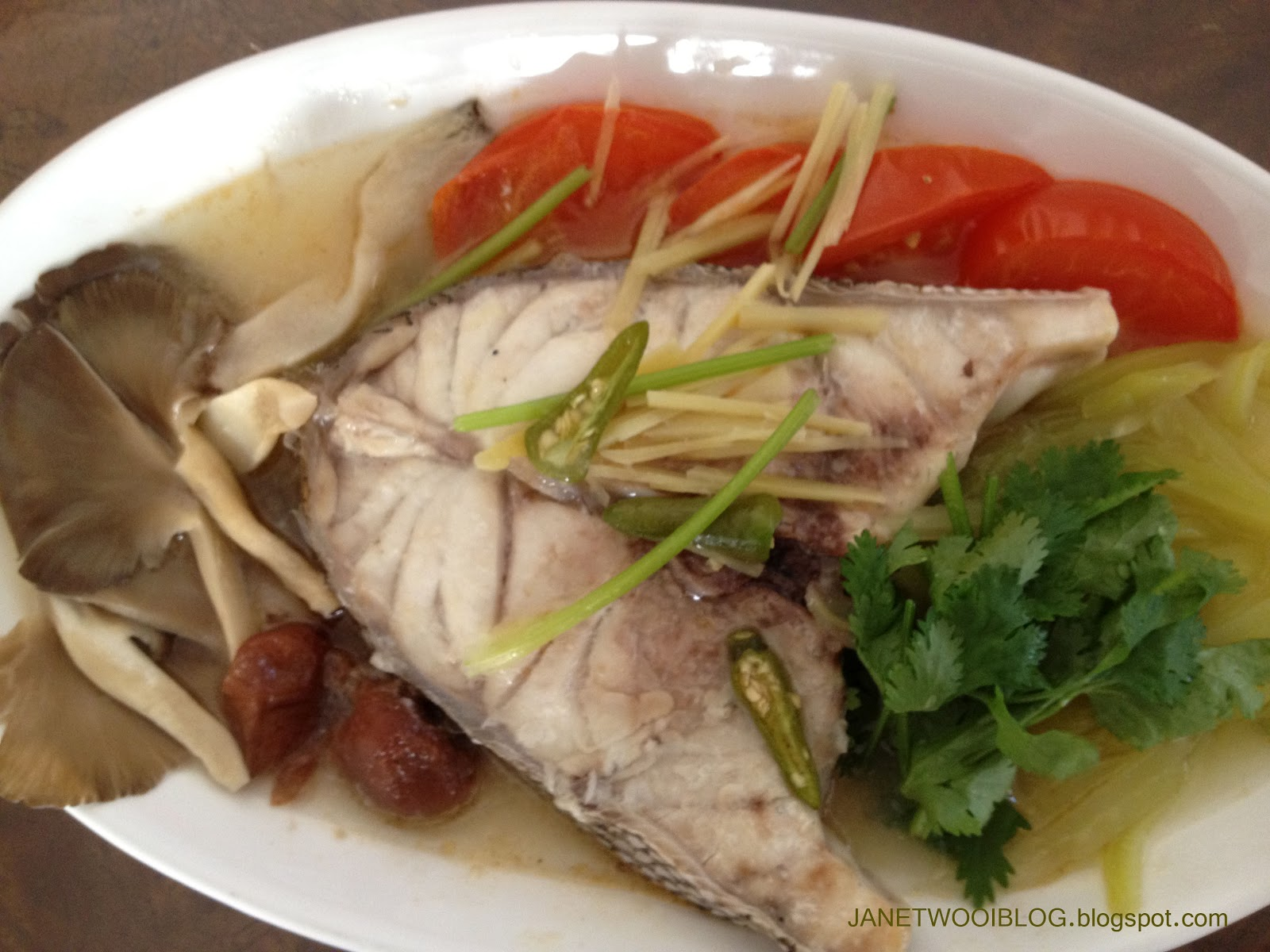 Janet wooi 39 s blog deliciously healthy teo chew steamed for How to steam fish