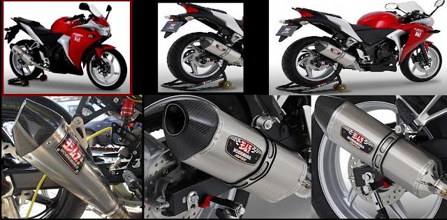 Gambar Modifikasi Motor Terbaru Honda CBR 250R - Knalpot Yoshimura Spesifikasi.1.jpg