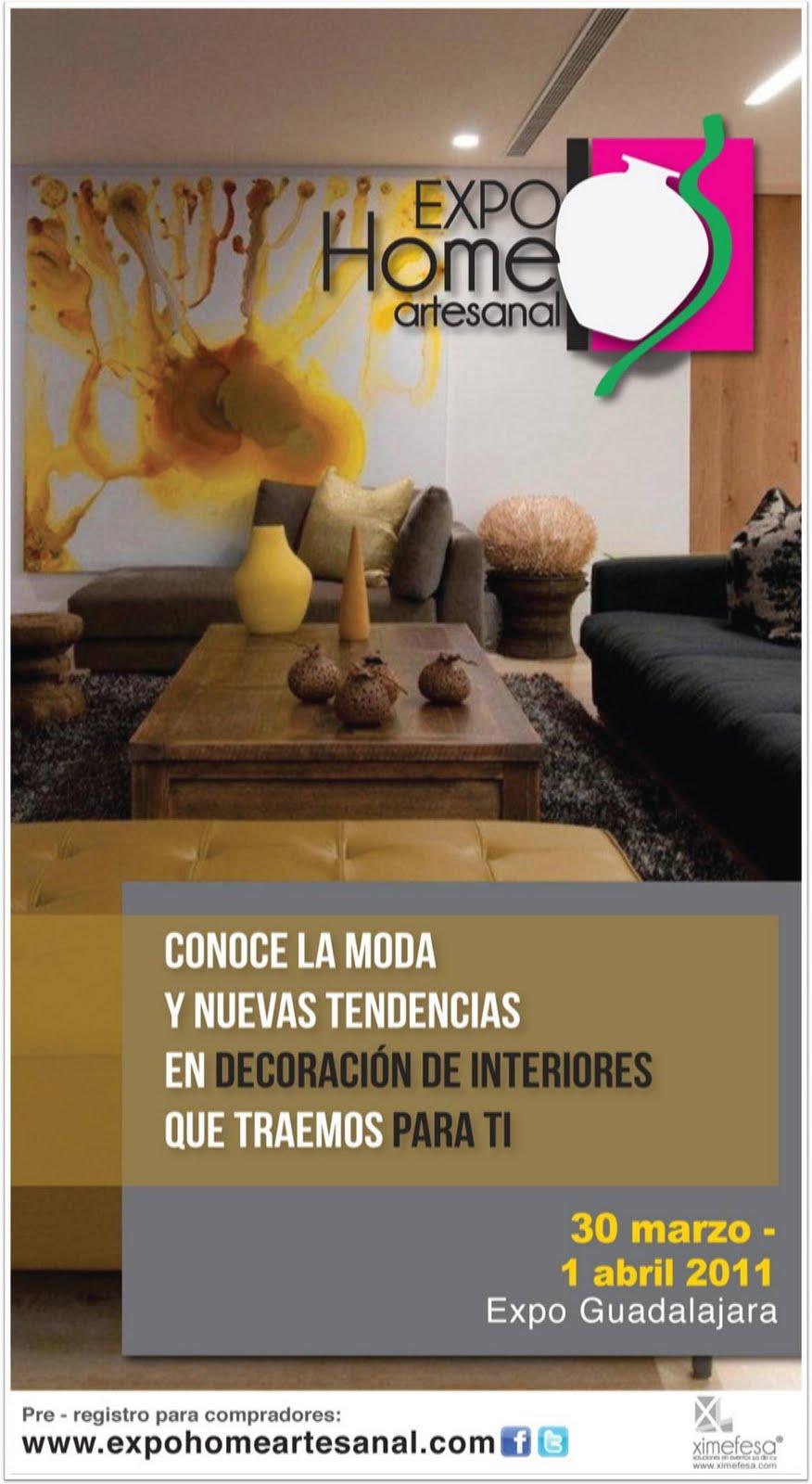 Expo dise o artesanal de casas en guadalajara directorio for Diseno de interiores guadalajara