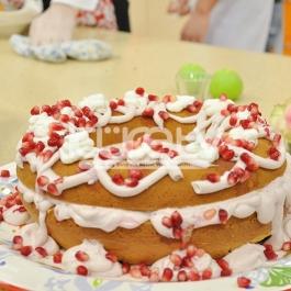 Nar Kremalı Kek Tarifi